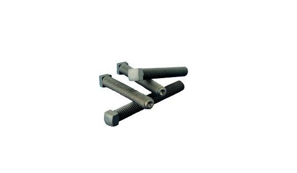 Set Screws Square Head Case Hardened 3//8-16 x 2-1//2 Quantity: 100 Thermal Black Oxide Alloy Steel - Grub-Blind-Allen-Headless Screw