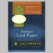 (SOUP464C - Southworth Antique Laid Paper)