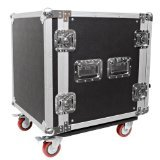 Seismic Audio - 12 SPACE RACK CASE for Amp Effect Mixer PA DJ PRO with -