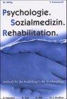 Psychologie Sozialmedizin Rehabilitation  Unterrichtsmaterialien Für Soziale Berufe Band 6