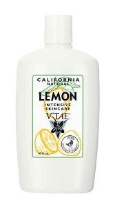 (California Natural Lemon Intensive Skincare Lotion V'TAE Parfum and Body Care 16 oz Lotion)