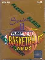 (1992 93 Fleer Series 2 Basketball Unopened Hobby Box (Possible Shaq Rookies))