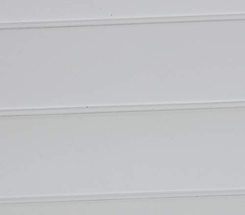 (White Marine Outdoor Boat Auto Vinyl Fabric Pleated - 1.5