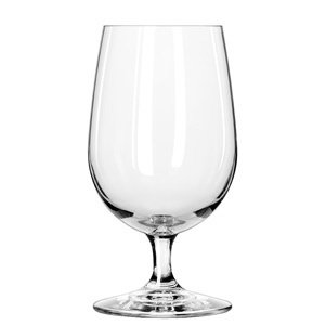 Libbey Glassware 8513SR Briossa Water Goblet, 16 oz. (Pack of 24) ()