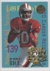 Jerry Rice (Football Card) 1995 Fleer Ultra Achievement Gold Medallion