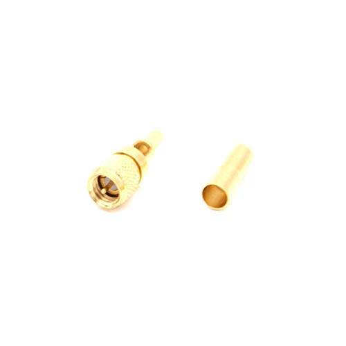 RF Connector Microdot Compatible Connectors Male 10-32UNF RG174 RG316 RG188 LMR100 Ultrasonic Flaw