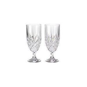 Godinger Dublin Crystal Set of 8 Iced Beverage Glasses by Godinger