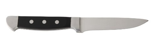 Fortessa Vaquero Non-Serrated Steak Knife, 10-Inch, Set of 6