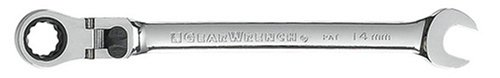 GEARWRENCH 85614 14mm XL Locking Flex-Head Ratcheting Combination Wrench