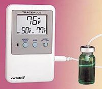 61161-364 Part# 61161-364 - Thermometer Lab Traceable Fridge/Frzr Dgt LCD Dual Wlmnt Ea By Control Company by VWR