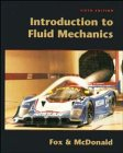 Introduction to Fluid Mechanics, Robert W. Fox and Alan T. McDonald, 0471124648