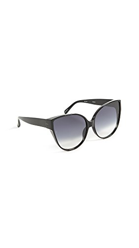 90514f94a85a Linda Farrow Luxe Women s Oversized Cat Eye Sunglasses