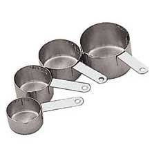 World Cuisine Paderno Measuring Cup Set -- 1 each.