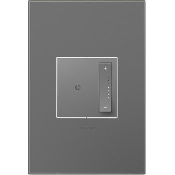 Legrand Adorne ADTP703TUM4WP SofTap Dimmer, Tru-universal And Magnesium Wall plate, 4 Pack
