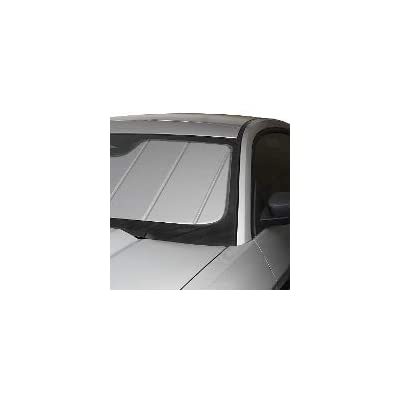 Covercraft UVS100 Custom Sunscreen: 2011-18 Fits Jeep Wrangler (JK) (Silver) (UV11186SV): Automotive