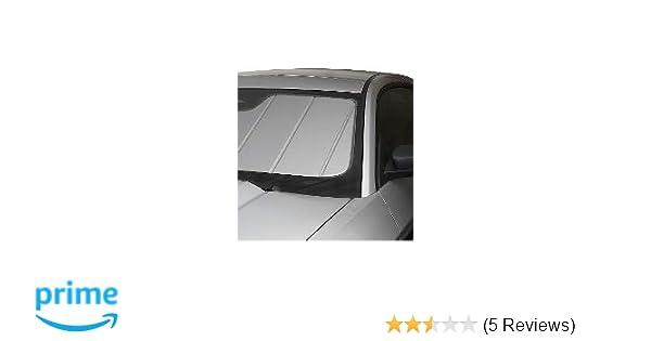 with//Out AUTO HI Beam Mirror Option Silver UV11318SV Covercraft UVS100 Windshield Custom Sunscreen: 2014-19 Infiniti Q50