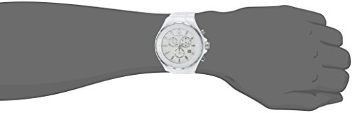 Technomarine Men's Cruise Quartz Watch with Ceramic Strap, White, 24 (Model: TM-115319)