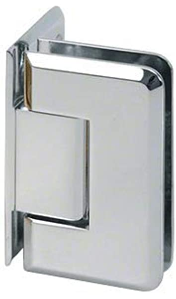 C.R LAURENCE V1E044CH CRL Polished Chrome Vienna 044 Series Wall Mount Offset Back Plate Hinge