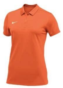 ナイキ レディース/ウーマン ポロシャツ Nike Team S/S Polo 半袖 Tシャツ ゴルフ Orange/White [並行輸入品] XL  B07MR54NY9