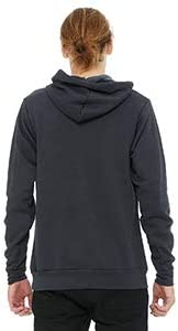 Bella Poly-Cotton Fleece Pullover Hoodie 3719