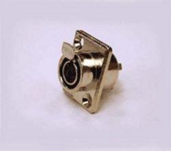 Switchcraft 4 Pin - 4 pin Female Mini XLR Audio Microphone TY4F Chassis match TA4M ,WHO#-MVOW382HRT6558