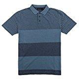 Nautica Men's Short Sleeve Knit Pique Polo Golf Shirt (Medium, Tide Blue)