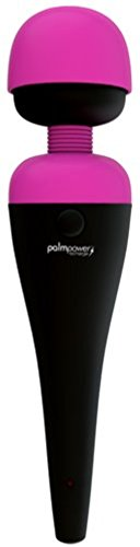 #1 in Europe - Now Rechargeable! Palm Power Ultimate Massager Premium Full-Body Massage Wand + Includes a Free HempSeed Ultra-Moisturizing Hand-&-Body Lotion 7 Oz (Massager Qi)
