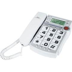 jWIN JTP590WHT Corded Speaker Phone with Caller ID (White) by jWIN