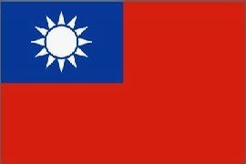Taiwan  Flag Polyester 3 ft. x 5 ft.