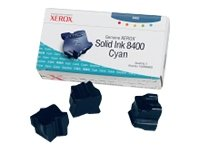 Xerox Phaser 8400 DP -Original Xerox 108R00605 - Solid Cyan Ink Cartridge -3400 pages