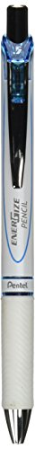 - Pentel Mechanical Pencil, Energize, 0.5mm, Pearl White & Sky Blue (PL75-SW)