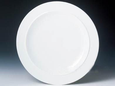 Denby White Gourmet Plate -