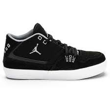 abbcc508686 Amazon.com | Jordan Flight 23 Classic Kids (GS) Sneakers (Black ...