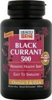 Health From The Sun - Black Currant Oil,500 Mg, 1 x 90 CAP