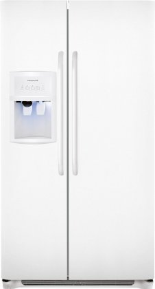 012505699993 - Frigidaire FFHS2622MW 26 Cu. Ft. Side-By-Side Refrigerator - White carousel main 0