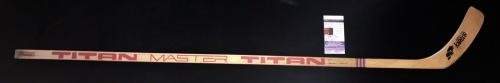 Signed Gordie Howe Hockey Stick Vintage Coa JSA Certified Autographed NHL Sticks
