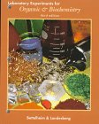 Lab Experiments for Organic and Biochemistry, Bettelheim, Frederick A., 0030203325
