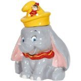 11.5 Inch Disney's Dumbo with Timothy in Hat Kitchenware Cookie Jar