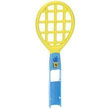 Spongebob Foam Tennis Racket for Nintendo Wii - Yellow/blue ()