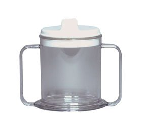 (AliMed Transparent Mug - 20 Per Case)