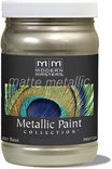 Mm206-06 6oz Champagne Matte Metallic Paint Collection