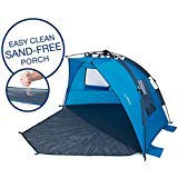 Impakt Ocean Beach Tent with Easy Clean Sand-Free Porch, 4 Person XL Deluxe Tent, Easy Setup Pop Up Sun Shade, Wind Blocker Larger Image