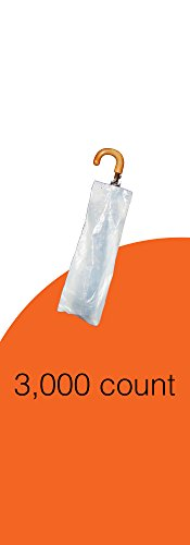 RS2000S - Small Wet Umbrella Bags | 3,000 Count by RainSafe