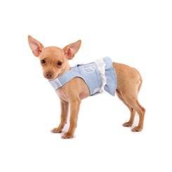 Harness Dress - Hemp XS Blue with - Xs Doggles Harness