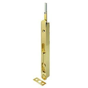 Deltana 18EFBZ3 Flush Bolt Polished Brass