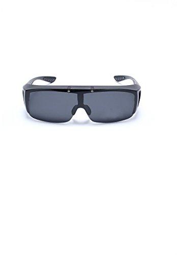 Sol policarbonato y Libre Deportes de Amarillo Gafas y 14 5x4 Negro 5cm Negro polarizadas Ciclismo 5x12 Aire para MINISU al POxEqWfx