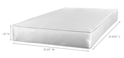 """210YcUioA5L - Sealy Baby Flex Cool 2-Stage Airy Dual Firmness Waterproof Standard Toddler & Baby Crib Mattress, 51.7""""x 27.3"""""""