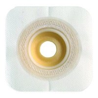SUR-FIT Natura Durahesive Moldable Convex Skin Barrier with Flange - Flange Size: 1 3/4