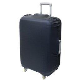 【まとめ 5セット】 ミヨシ 撥水スーツケースカバー Lサイズ ブラック MBZ-SCL3/BK B07KNTK5DR