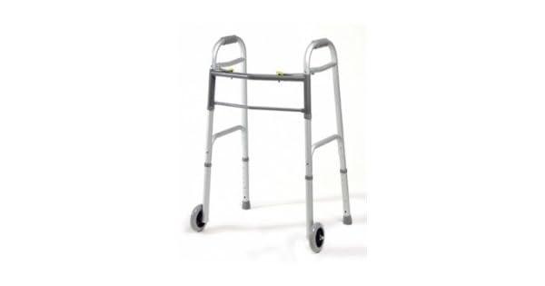 Amazon.com: Lumex dual-release – Andador plegable con ruedas ...